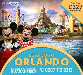 cheap flight tickets to orlando from Manchester