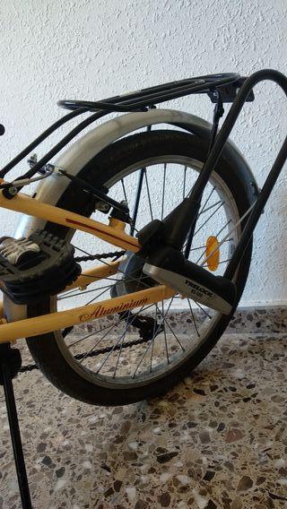 Bicicleta plegable de aluminio, Vintage edition