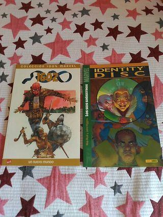Pack cómics 1602 y Los seis siniestros.