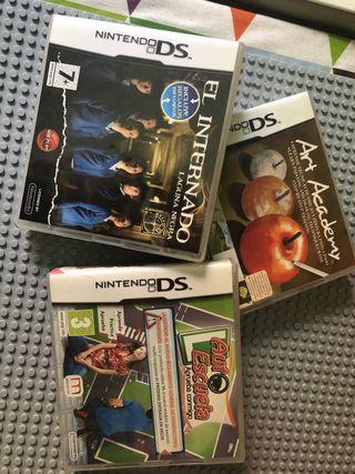 Juegos Nintendo ds normal