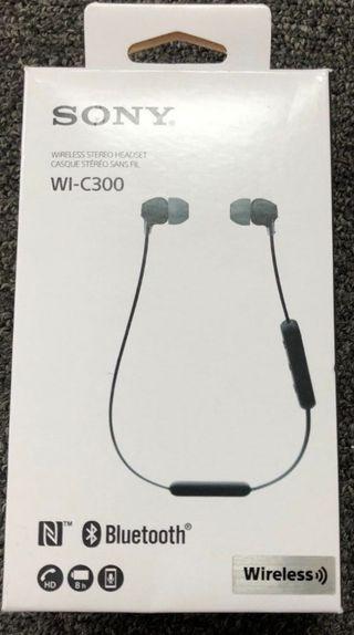 Auriculares inalámbricos Sony wi-c300