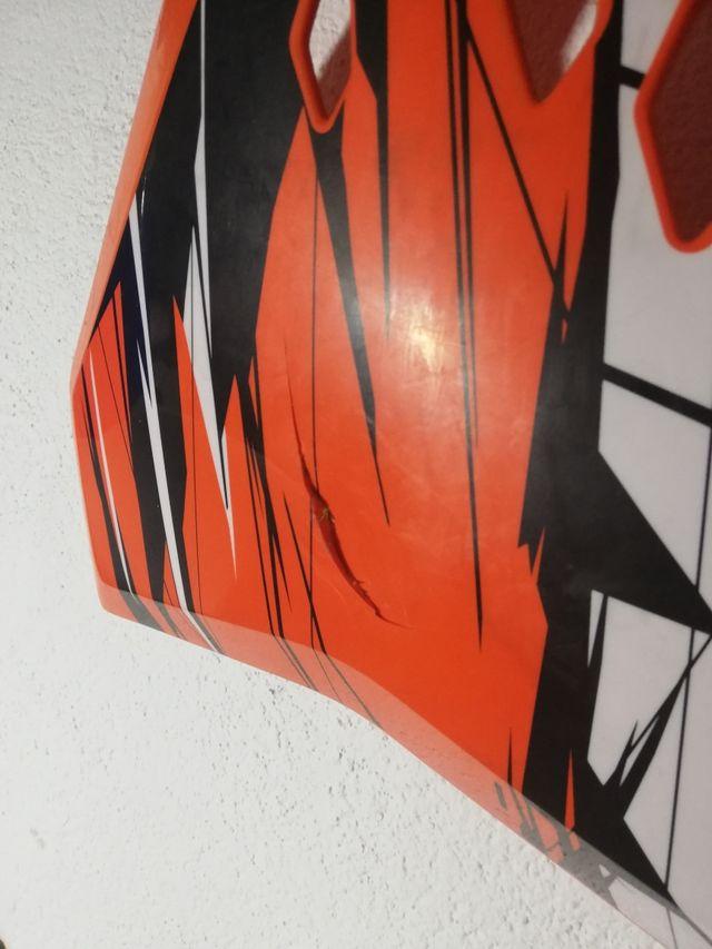 tapas laterales ktm exc 2011