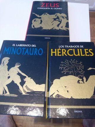 Libros Mitología Zeus, Hércules, Minotauro