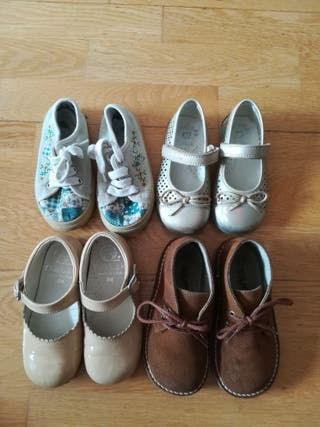 Lote calzado talla 24.
