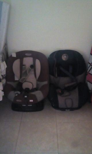 sillitas de niños para coche