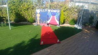 alfombra decoracion una boda