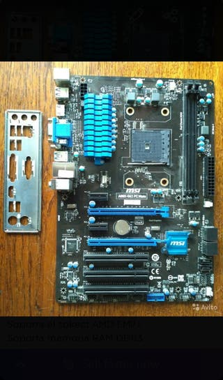 Pack Placa Base, Memoria RAM y Procesador AMD