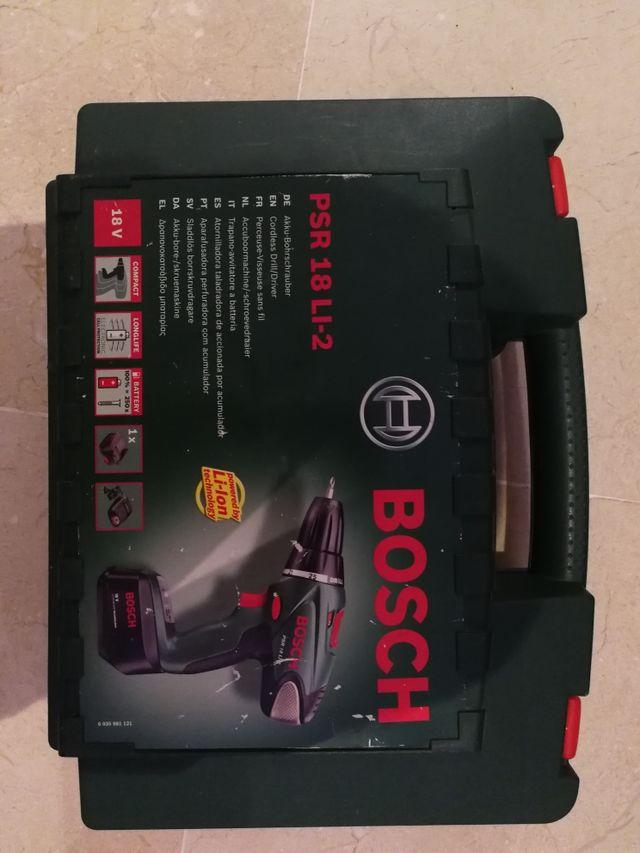 taladro Bosch 18V Li-Ion