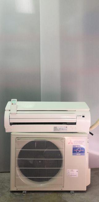 Aire acondicionado Mitsubishi power inverter 3096