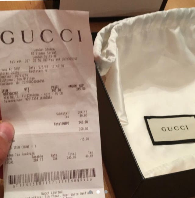 9bfa45a40 Gucci belt second hand for £200 in West Burton in WALLAPOP