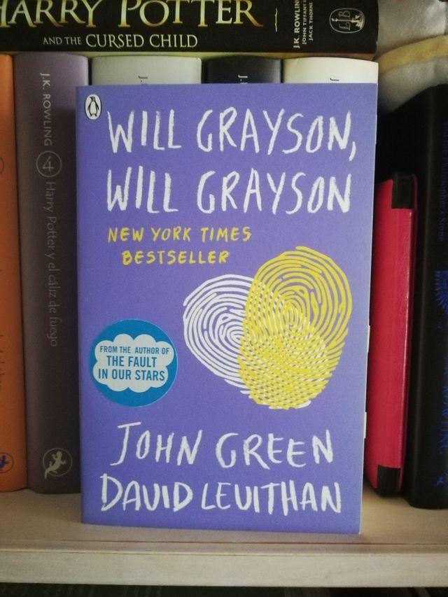 Will Grayson, Will Grayson - John Green y David Le