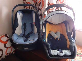 2 sillas de bebé para coche , maxicosi