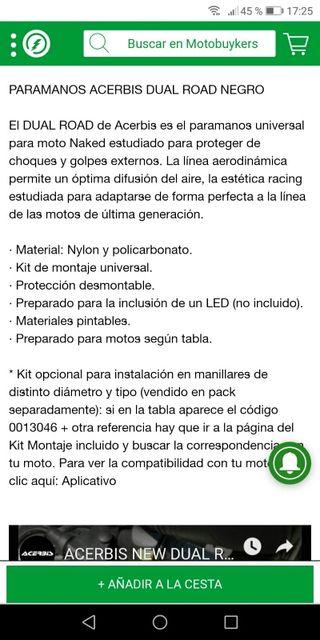 paramanos Universal para moto