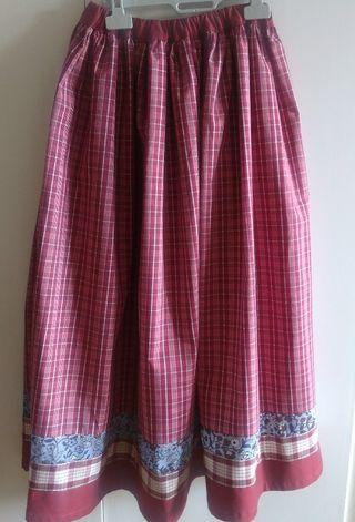 falda de casera
