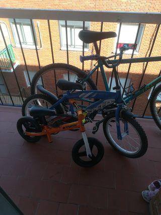 vendo tres bicicletas