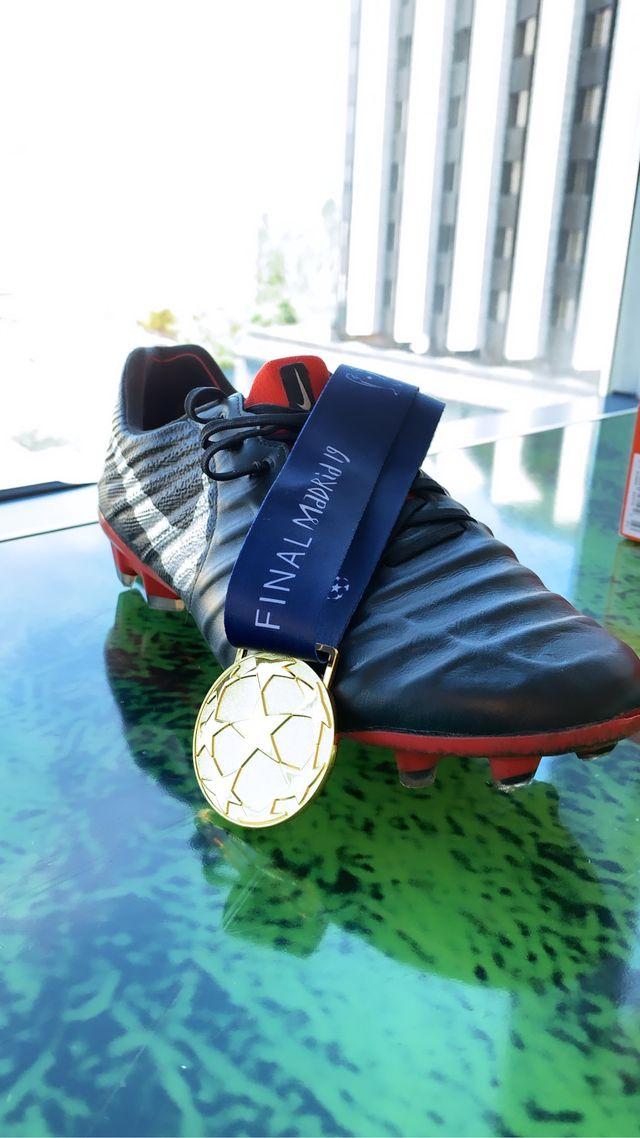 Champions league medal