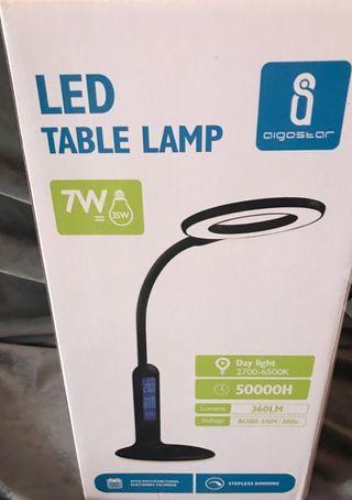 lámpara escritorio