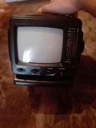 Televisor antiguo nuevo a estrenar