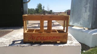 caja antigua marca la casera