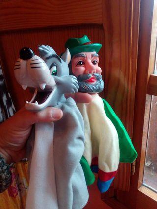 Oferta NOVIEMBRE!! Marionetas infantiles