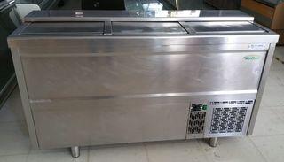 Botellero 1500mm interior acero inox
