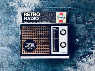 Retro radio Haynes - Build your own working radio