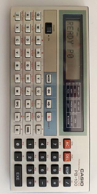 Calculadora programable Casio PB 100