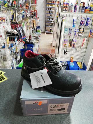 Rebajdas. botas de piel bellota de seguridad