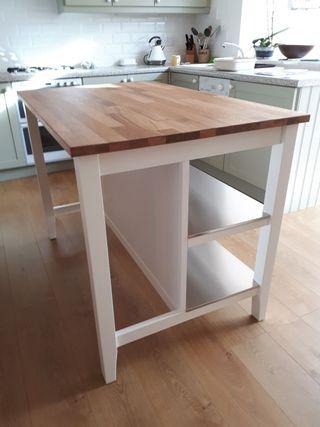 mesa isla cocina sternstorp