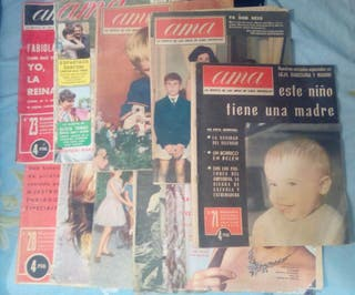 Lote de revistas ama años 60