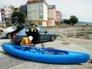 Kayak doble pesca