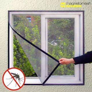 5b39822f Mosquitera para ventana con velcro 2 unidades