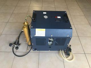 Compresor buceo alta presión aire respirable buceo