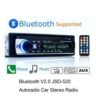 radio bluetooth y USB para el coche