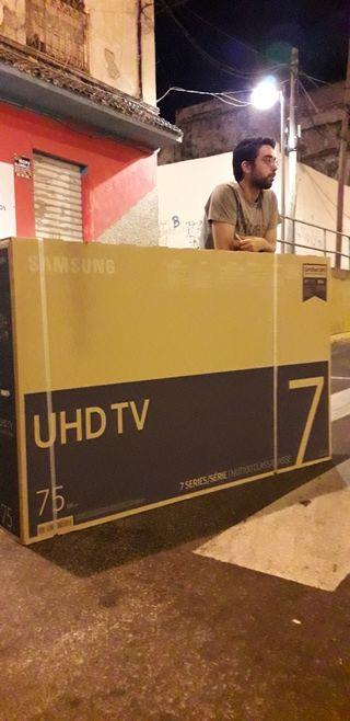 Samsung 75 4k smart tv 1399.95