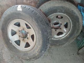 ruedas Mitsubishi pajero montero