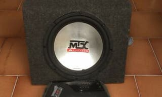 """subwoofer 12"""" mtx 400rms"""