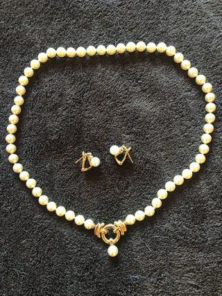 b4b3bf16574b Pendientes perlas de segunda mano en la provincia de Málaga en WALLAPOP