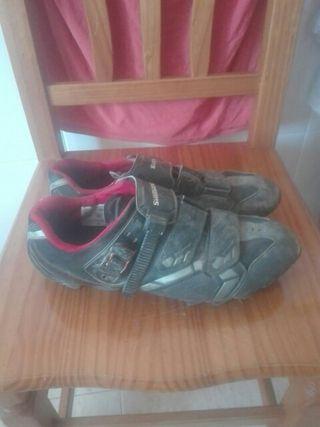 zapatillas btt shimano