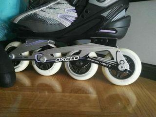 patines línea talla 40 Oxelo
