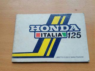 Manuales originales moto Honda clasica