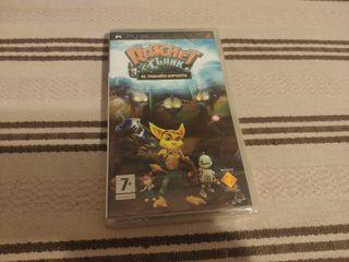 PRECINTADO Ratchet Clank El Tamaño Importa PSP