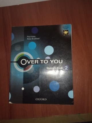 Over to you, 2° Bachillerato, Student's book