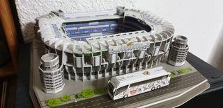 Maqueta Estadio Santiago Bernabéu