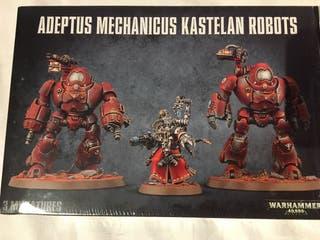 Kastellan robots adeptus mechanicum