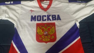 hockey hielo camiseta rusia