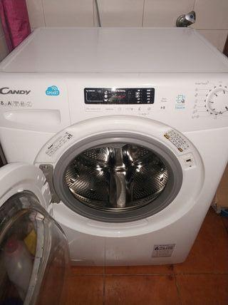 lavadora Candy smart touch 8 kg 1200 revoluciónes