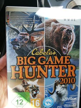 Cabela's Big game hunter 2010 wii