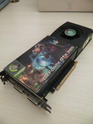 Nvidia GeForce GTX 285 - Tarjeta gráfica