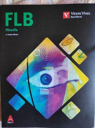 FLB Filosofía, libro de 1º de bachillerato.